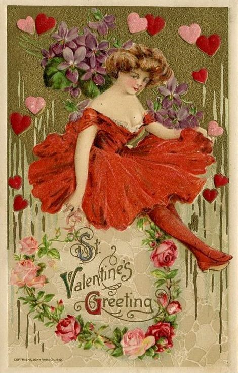 Vintage Valentines Day Jewelry
