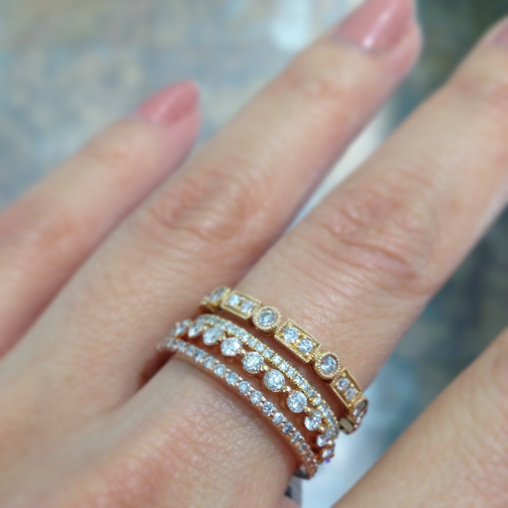How To Wear Stackable Jewelry