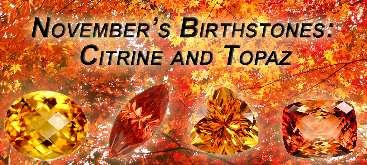 Double Dose November Topaz Birthstone