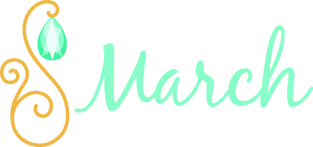 March Birthday Birthstone Jewelry Choices