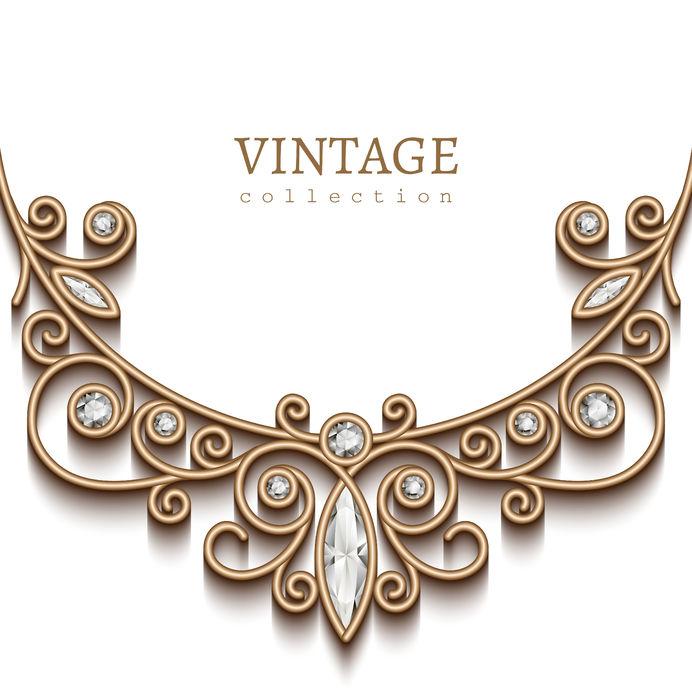 Vintage Pendant Jewelry
