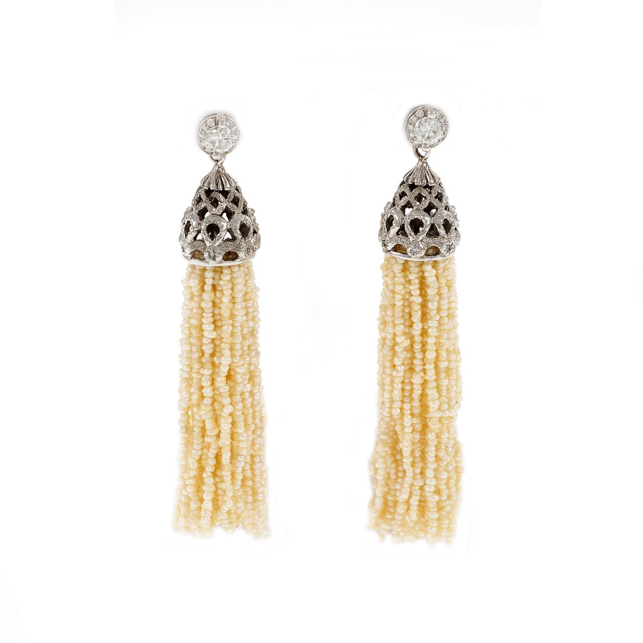 Bead and Tassel Jewelry