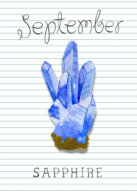 Blue Sapphire Birthstone Jewelry