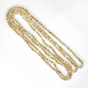 Natural Quartz Long Necklace