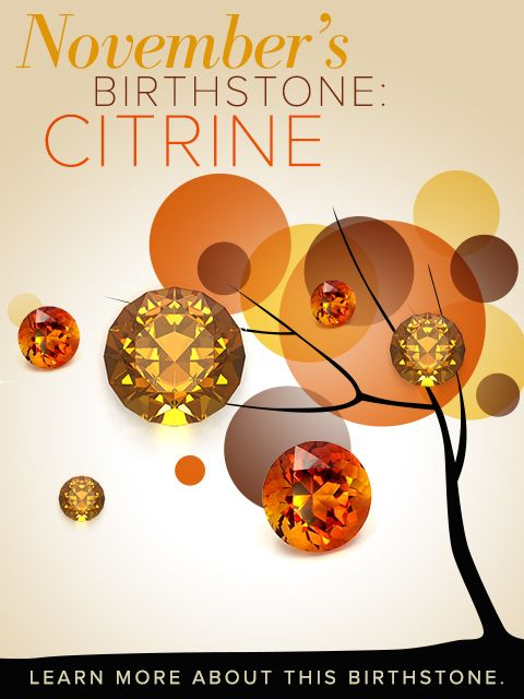 Hello Citrine Birthstone