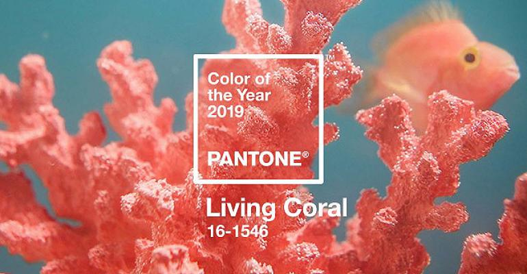 Pantone Living Coral Jewelry
