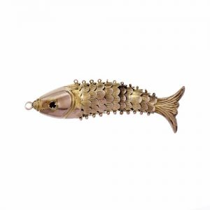 Gold Fish Pendant
