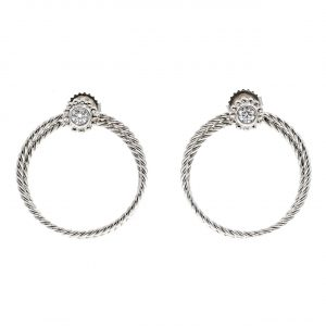 These Hoop Earrings Make a Statement