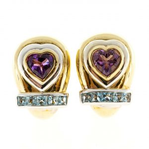 Estate Designer Earrings by Lilli