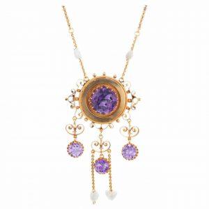 Beautiful Amethyst Birthstone Jewelry for February Birthdays