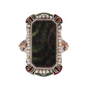 Bloodstone Jewelry for March Birthdays