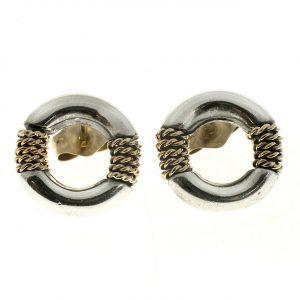 Tiffany & Co., Twisted Rope Stud Earrings