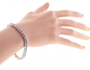 Peter Suchy Multi Sapphire Bracelet