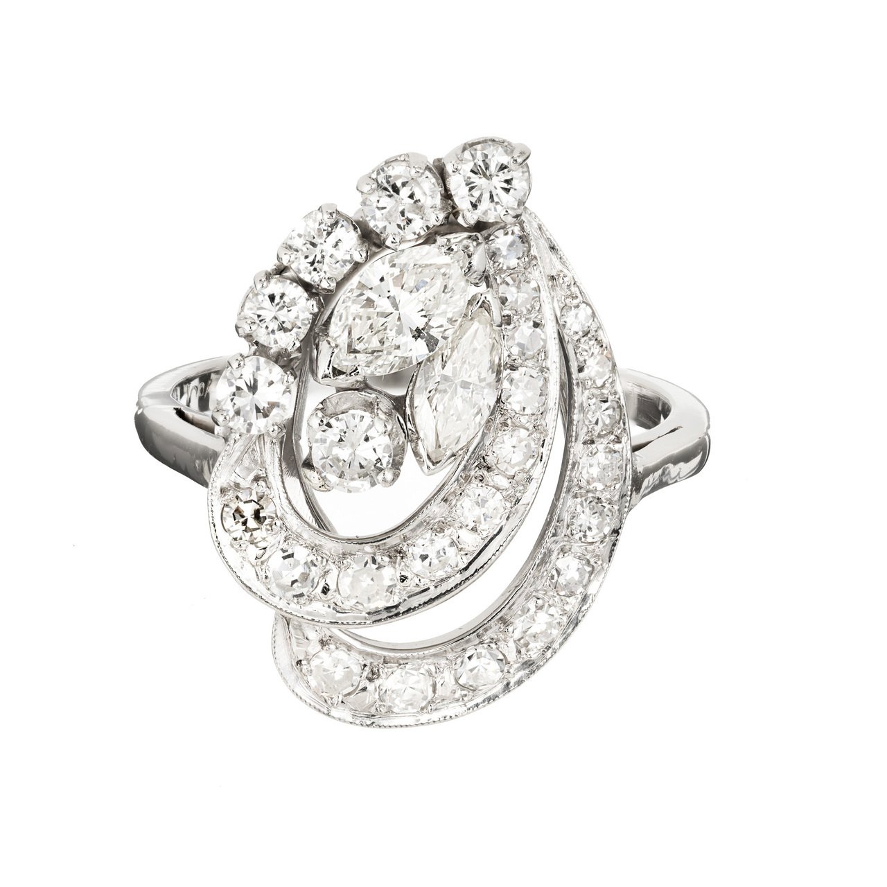 White Gold Jewelry Styles to Wear